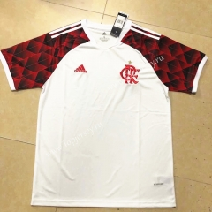 2021-2022 Flamengo Away White Thailand Soccer Jersey AAA-HR