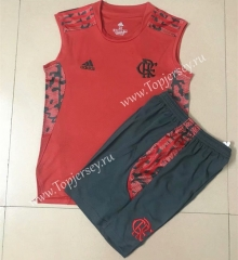 2021-2022 Flamengo Red Vest Soccer Uniform-AY