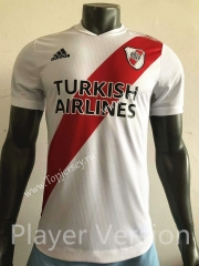 Player Version 2021-2022 CA River Plate Home White Thailand Soccer Jersey AAA