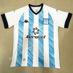 2021-2022 Racing Club de Avellaneda Home Blue&White Thailand Soccer Jersey AAA-818