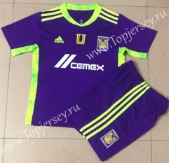 2021-2022 Tigres UANL Goalkeeper Purple Soccer Uniform-AY