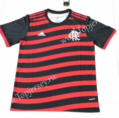 2021-2022 Flamengo 2nd Away Red and Black Thailand Soccer Jersey AAA-HR