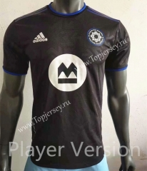 Player Version 2021-2022 Montreal Impact Home Black Thailand Soccer Jersey AAA