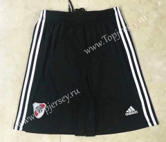2021-2022 River Plate Home Black Thailand Soccer Shorts