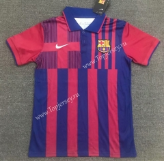 2021-2022 Barcelona Red&Blue Thailand Soccer Polo Shirt-803