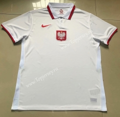 2021-2022 Poland Home White Thailand Soccer Jersey AAA-803