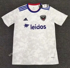 2021-2022 D.C. United White Thailand Soccer Jersey AAA