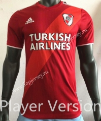 2021-2022 CA River Plate Away Red Thailand Soccer Jersey AAA