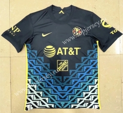 2021-2022 Club America Away Royal Blue Thailand Soccer Jersey AAA-HR