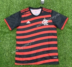 2021-2022 Flamengo 2nd Away Red and Black Thailand Soccer Jersey AAA-407