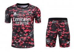 2021-2022 Arsenal Red&Black Thailand Training Soccer Uniform-418