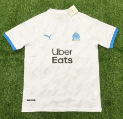2021-2022 Olympique de Marseille Home White Thailand Soccer Jersey AAA