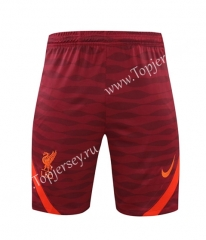 2021-2022 Liverpool Red Thailand Training Soccer Shorts AAA-418