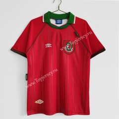 Retro Version 1994-1996 Wales Home Red Thailand Soccer Jersey AAA-C1046