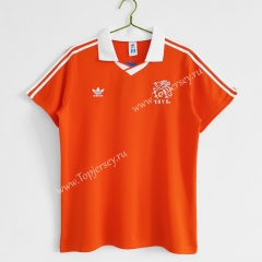 Retro Version 1990-1992 Netherlands Home Orange Thailand Soccer Jersey AAA-C1046