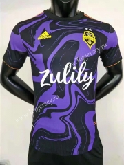 Player Version 2021-2022 Seattle Sounders FC Away Purple Thailand Soccer Jersey AAA