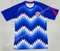 2021-2022 Chile Blue Thailand Soccer Training Jersey AAA-709