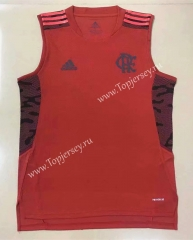 2021-2022 Flamengo Red Thailand Soccer Training Vest-908