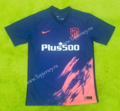 2021-2022 Atletico Madrid Away Blue Thailand Soccer Jersey AAA-C2128