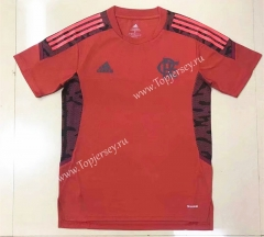 2021-2022 Flamengo Red Thailand Soccer Training Jersey-908
