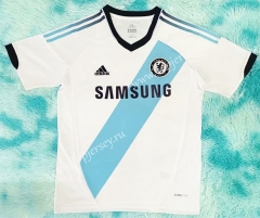 Retro Version 2012-2013 Chelsea Away White Thailand Soccer Jersey AAA-HR