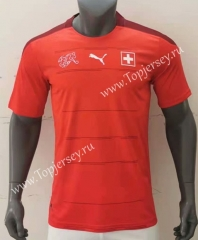 2021-2022 Sweden Home Red Thailand Soccer Jersey AAA-416