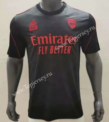 2021-2022 Arsenal Dark Gray Thailand Soccer Training Jersey AAA-416