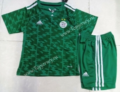 2021-2022 Algeria Away Green Kids/Youth Soccer Uniform