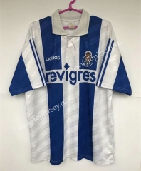 Retro Version 95-97 Porto Home Blue&White Thailand Soccer Jersey AAA-503
