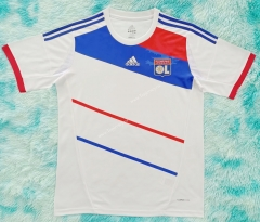 Retro Version 12-13 Olympique Lyonnais Home White Thailand Soccer Jersey AAA-HR