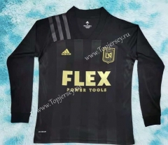 2021-2022 Los Angeles FC Home Black LS Thailand Soccer Jersey AAA-HR