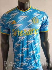 Player Version 2021-2022 Philadelphia Union Light Blue Thailand Soccer Jersey AAA