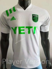 Player Version 2021-2022 Austin FC Away White Thailand Soccer Jersey AAA