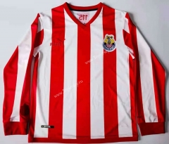 115 Anniversary Deportivo Guadalajara Home Red&White LS Thailand Soccer Jersey AAA-912