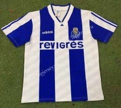 Retro Version 94-95 Porto Home Blue&White Thailand Soccer Jersey AAA-HR