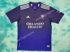 2021-2022 Orlando City Home Purple Thailand Soccer Jersey AAA