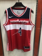 Washington Wizards Red #4 NBA Jersey-609