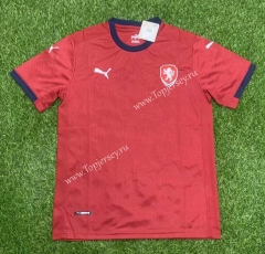2021-2022 Czech Republic Home Red Thailand Soccer Jersey AAA-407