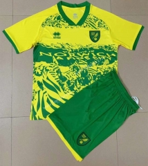2021-2022 Special Version Norwich City Yellow&Green Soccer Uniform-AY