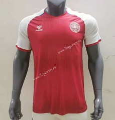 2021-2022 Denmark Home Red Thailand Soccer Jersey AAA-416