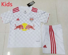 2021-2022 RB Leipzig Home White Youth/Kids Soccer Uniform-507