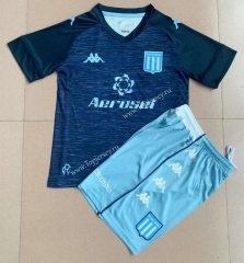 2021-2022 Racing Club de Avellaneda Away Royal Blue Soccer Uniform-AY