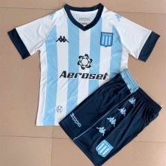2021-2022 Racing Club de Avellaneda Home Blue&White Soccer Uniform-AY