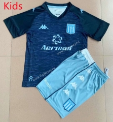 2021-2022 Racing Club de Avellaneda Away Royal Blue Kid/Youth Soccer Uniform-AY