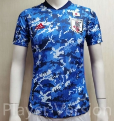 Player Version 2021-2022 Japan Home Blue Thailand Soccer Jersey AAA-807